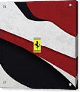 Ferrari Blend Acrylic Print