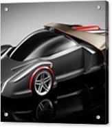 Ferrari Concept Black Acrylic Print