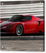 Ferrari Enzo - Rosso Corsa Acrylic Print