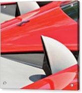 Ferrari Exhaust Pipes Acrylic Print