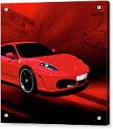Ferrari F430 Acrylic Print