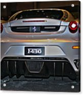 Ferrari F430 No 1 Acrylic Print