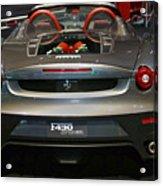 Ferrari F430 Spyder Convertible Acrylic Print