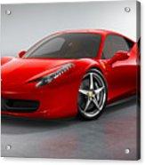 Ferrari Italia  Acrylic Print