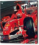 Ferrari - Michael Schumacher  Acrylic Print