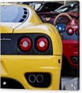 Ferrari Pair Acrylic Print
