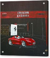 Ferrari Pininfarina Rossa Concept Acrylic Print