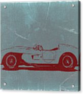 Ferrari Testa Rosa Acrylic Print