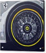 Ferrari Wheel Acrylic Print