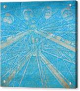 Ferris Sketch Acrylic Print