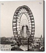 Ferris Wheel, 1893 Acrylic Print