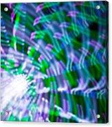 Ferris Wheel Abstract Xv Acrylic Print