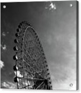 Ferris Wheel Against Sky Acrylic Print
