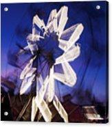 Ferris Wheel At Dusk Acrylic Print