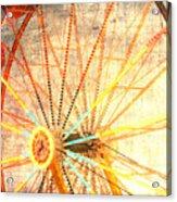 Ferris Wheel Jazz Acrylic Print