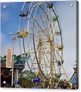 Ferris Wheel Santa Cruz Boardwalk Acrylic Print