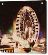 Ferris Wheels Tower 536 2 Acrylic Print