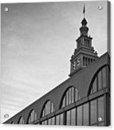 Ferry Building San Francisco I Bw Acrylic Print