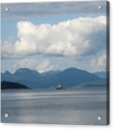 Ferry From Cortes Island Acrylic Print