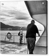 Ferry Passengers Acrylic Print