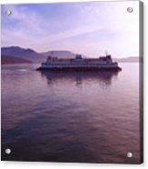 Ferry Ride Through The San Juans Acrylic Print