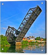 Ferry St Draw Bridge Acrylic Print