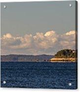 Ferry To Martha's Vineyard Passes Nobska Light Acrylic Print