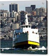 Ferryboat On The Bay Acrylic Print