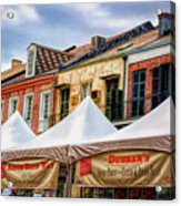 Festival New Orleans Seafood - French Quarter Acrylic Print