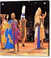 Festival Of The Lion King Acrylic Print