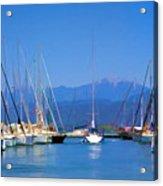 Fethiye Harbour Acrylic Print