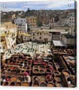 Fez Morocco Acrylic Print