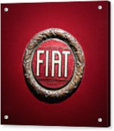 Fiat Emblem -1621c Acrylic Print