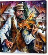 Fiddler From The Sky Acrylic Print