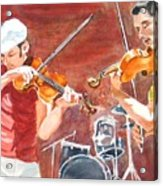 Fiddles Acrylic Print