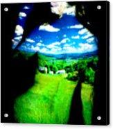 Field Girl Acrylic Print