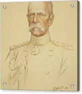 Field Marshall Earl Roberts Acrylic Print