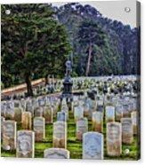 Field Of Heroes Acrylic Print