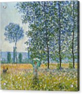 Fields In Spring, 1887 Acrylic Print