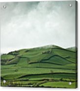 Fields Of The Hill Acrylic Print