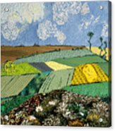 Fields To Gogh Acrylic Print