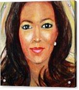 Fiercewomen Portrait Of Adrienne Acrylic Print