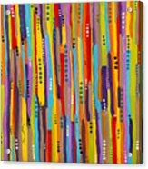 Fiesta Abstract Acrylic Print
