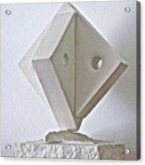 Fifth Chakra Swastika  Acrylic Print