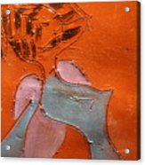 Fifties Gal - Tile Acrylic Print
