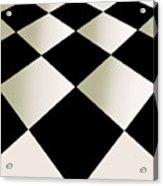 Fifties Kitchen Checkerboard Floor Acrylic Print