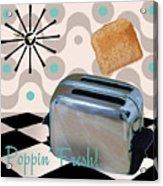 Fifties Kitchen Toaster Acrylic Print