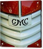 Gmc Grill Acrylic Print