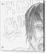 Fight Fair Acrylic Print