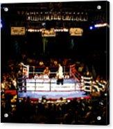 Fight Night Acrylic Print by David Lee Thompson